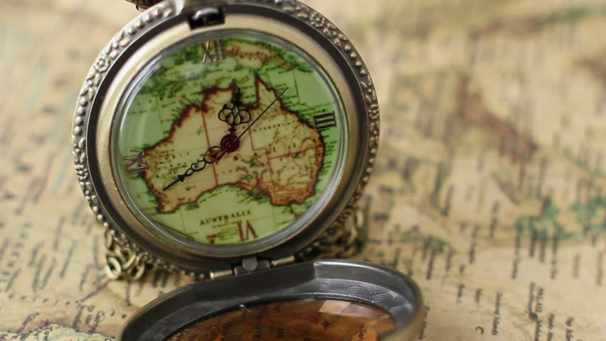 Pocket watches on the world map stock footage video 8707414 pocket watches on the world map hd stock video clip gumiabroncs Gallery
