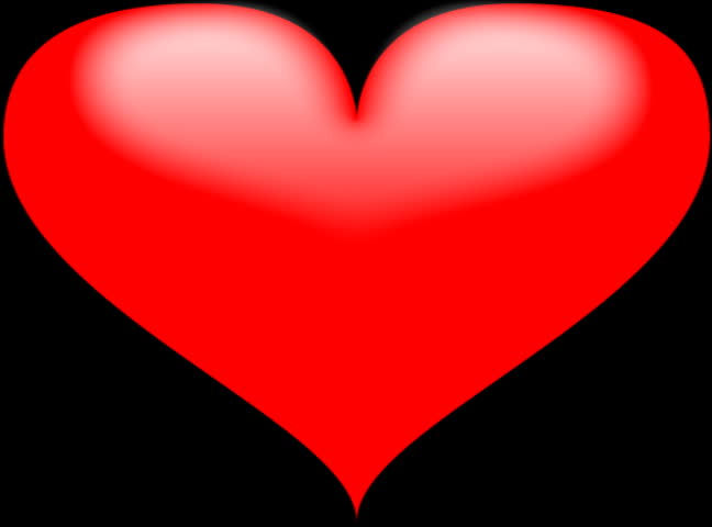 Big Red Heart Turning Into Stock Footage Video  100