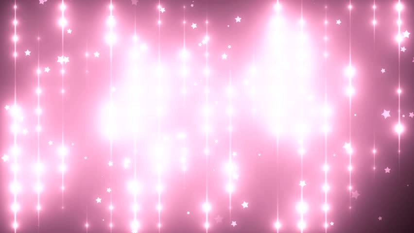 Stock Video Of Floodlights Disco Background With Particles Pink