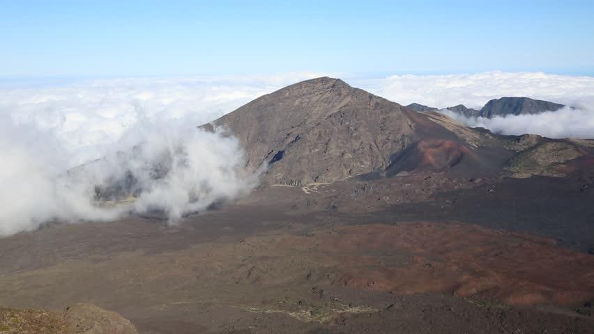Wind in haleakala national park maui hawaii stock footage video clouds coming to haleakala national park maui hawaii hd stock video clip publicscrutiny Image collections