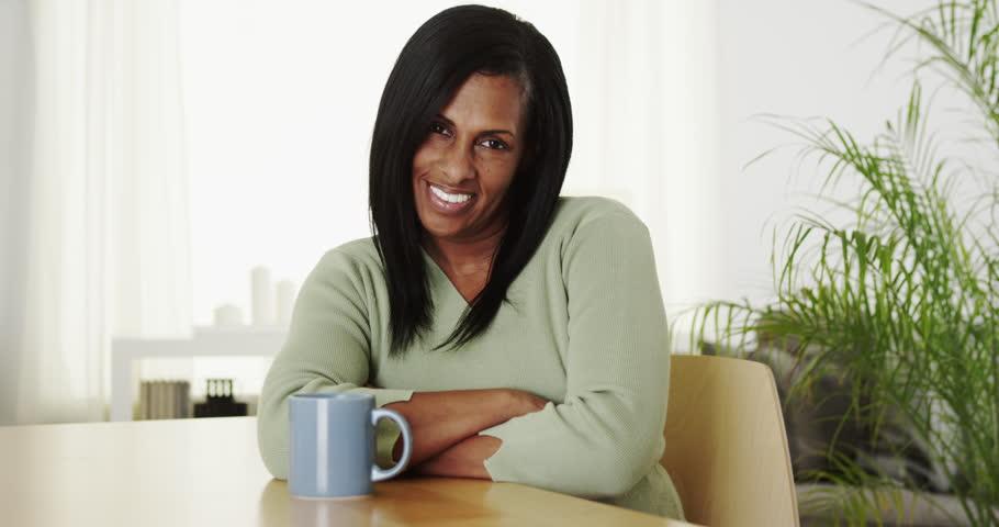 Black mature video woman