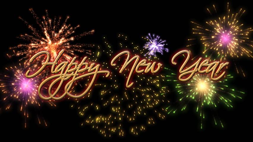 Happy New Year Fireworks 8