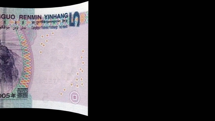 China renminbi banknote Transition