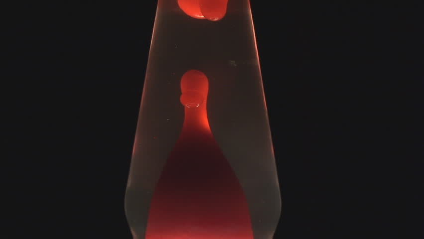 Lava Lamp   Wide Center   HD Stock Footage Clip