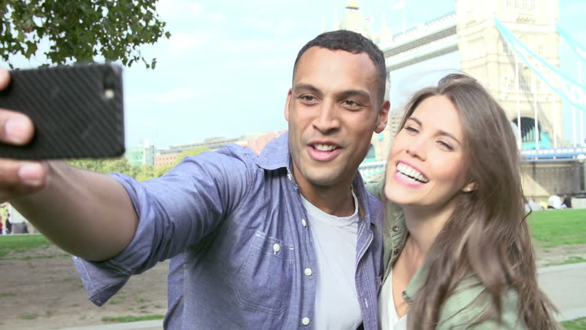 Couple Posing For Selfie With Stock Footage Video 100 Royalty Free 9170339