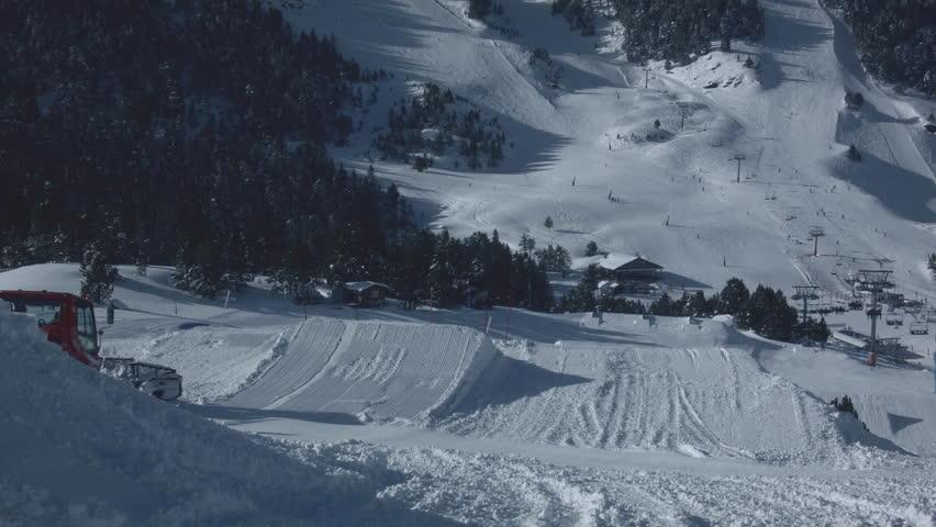 Stock Video Of 4k Winter Scene Mountain Rustic View