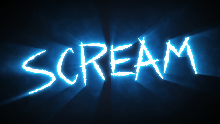 """Claw Slashes Scream - Animation of claw slashes that spell the word """"Scream"""". Please view my other animations in this series. Available in blue, green, and red.   Shutterstock HD Video #9244883"""