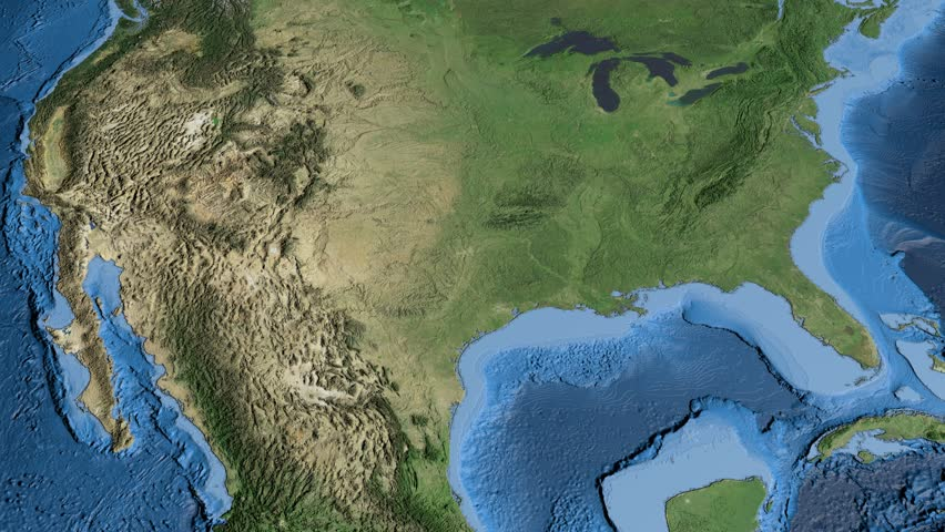 State Outlines Stock Footage Video Shutterstock - 4k us map