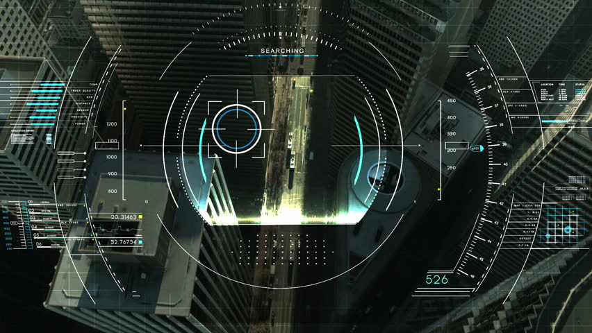 A High Tech Sci Fi Display This Animation Could Be Used