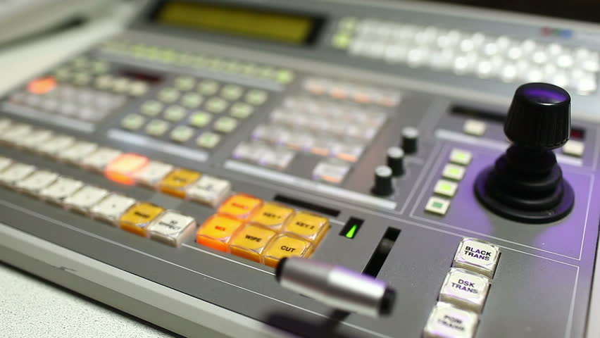 Broadcast Vision Mixer Stock Footage Video (100% Royalty-free) 930979 |  Shutterstock