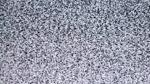 TV channel noise, noise, snows on the screen. Interference. Without a TV antenna