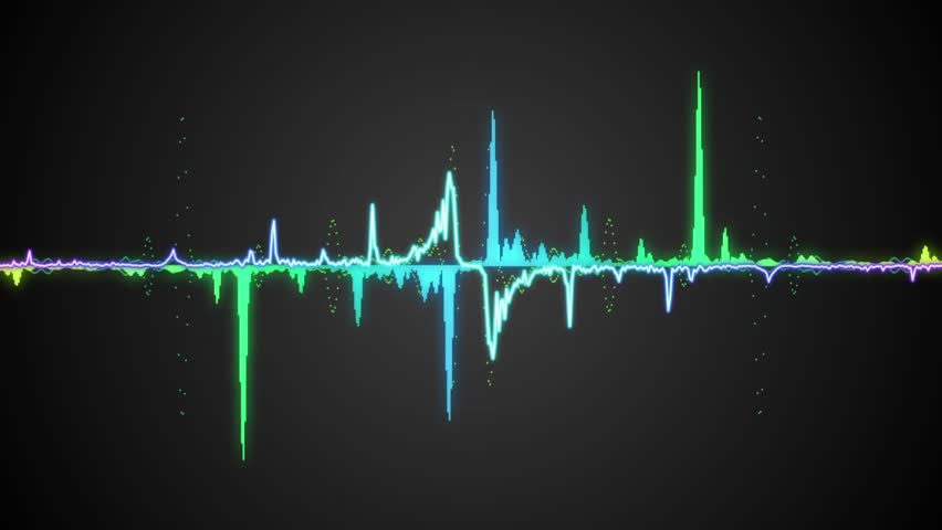 waveform stock footage video shutterstock