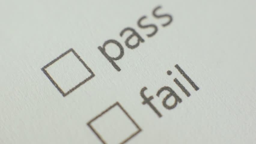 Survey Marking Pass Checkbox  | Shutterstock HD Video #9352694