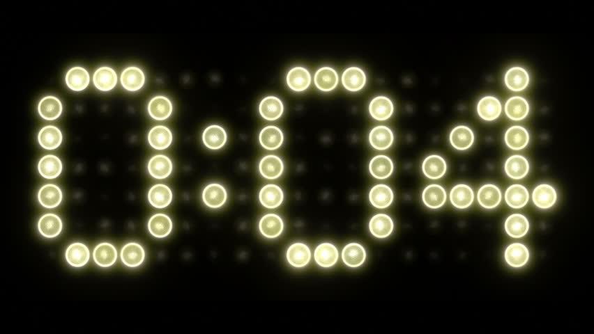 10 Second Scoreboard Countdown - Colon