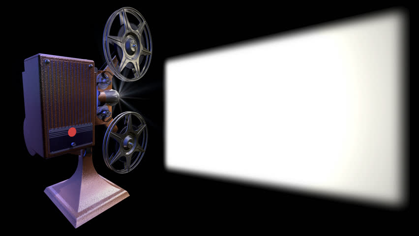 Render Of Film Projector Show Stock Footage Video 100 Royalty Free