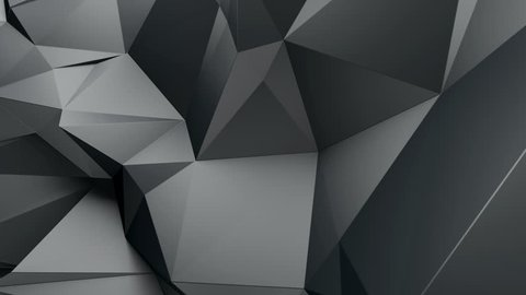 3d abstract geometric background with sharp spikes with shadows