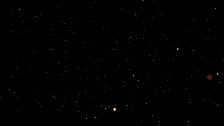 Stars blinking in universe. High quality clip rendered on high end computer and graphics card.  #9459419