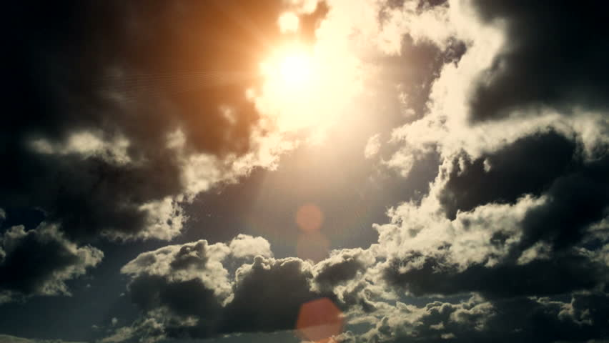 Dramatic Cloudscape Area with the Light sun ( Different Series ) | Shutterstock HD Video #9505259