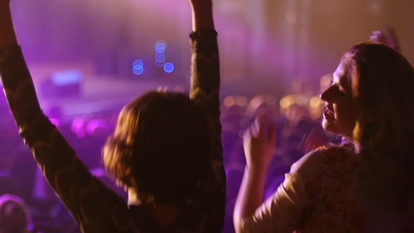Girls Dancing And Flashing