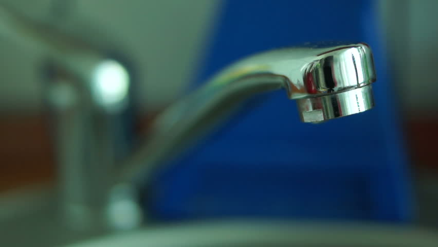 Leaky Faucet, Slow Motion Stock Footage Video 9536393 | Shutterstock