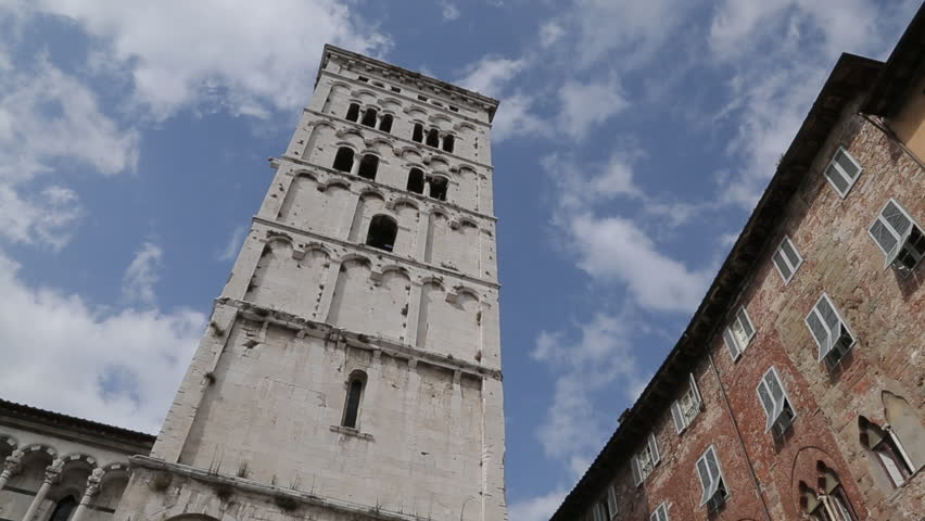 Church Of San Michele, Piazza San Michele, Lucca, Tuscany, Italy, Europe