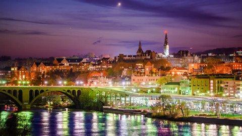 Georgetown, Washington DC on the Potomac River.