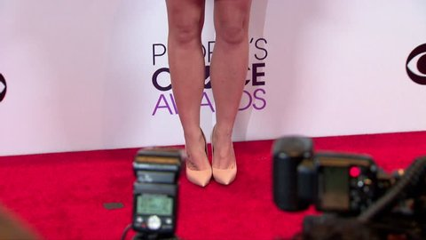 Los Angeles, CA - January 08,2014: Britney Spears at People's Choice Awards 2014, Nokia Theatre